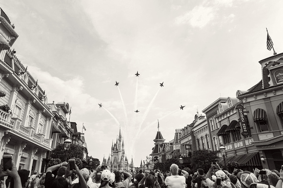 2017-04 Blue Angles over Magic Kingdom - 044